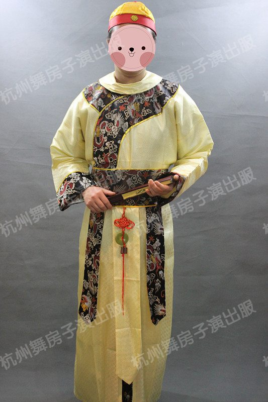 杭州清朝皇子阿哥古装演出服装租赁