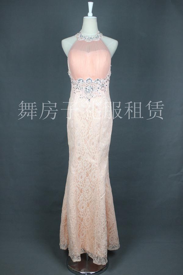 女士长款晚礼服 - 舞房子演出服装—杭州专业演出服装