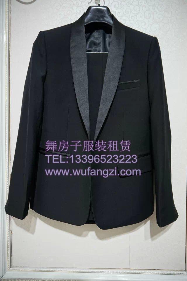 男士西装礼服出租 年会主持人男礼服服装租赁