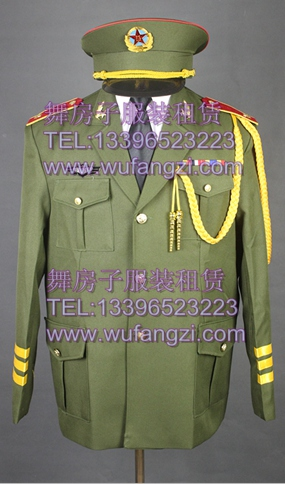 海陆空三军仪仗队陆军独唱合唱演出服出租杭州演出服装出租